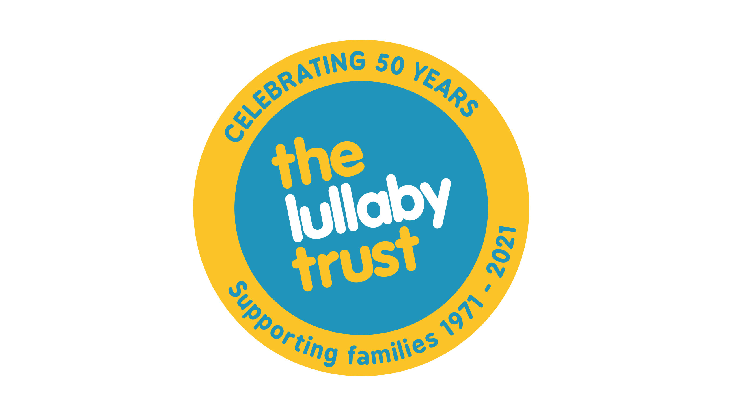lullaby-trust-50th-anniversary-logo-website-landing-page