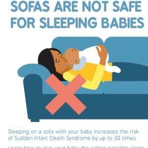 A4 sofa sharing poster