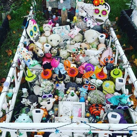 Hazel's grave