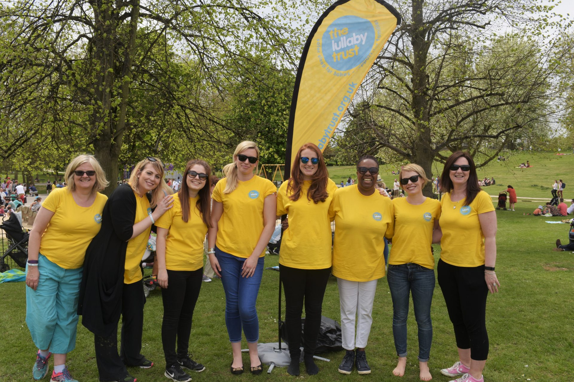 The Lullaby Trust Staff