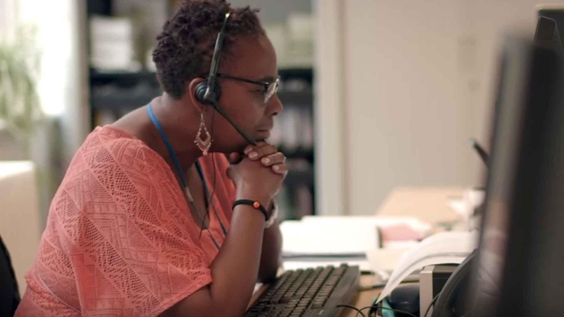 Marcia-helpline-listener