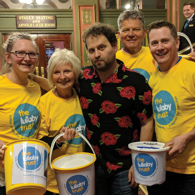 Adam Kay raises money for The Lullaby Trust