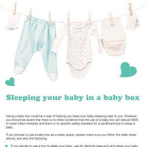 baby box info leaflet