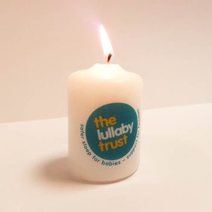 Baby Loss Awareness Week candle