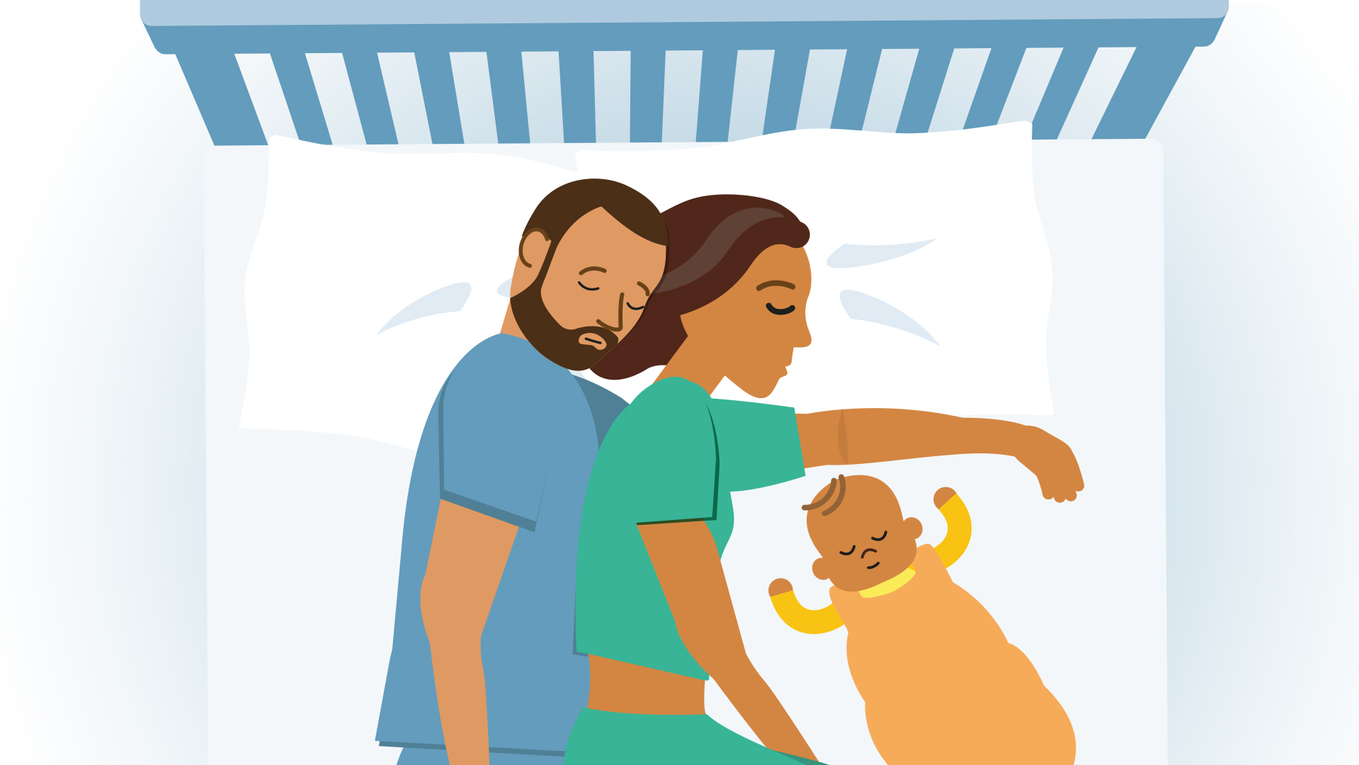 Co Sleeping With Your Baby Advice From The Lullaby Trust The Lullaby Trust