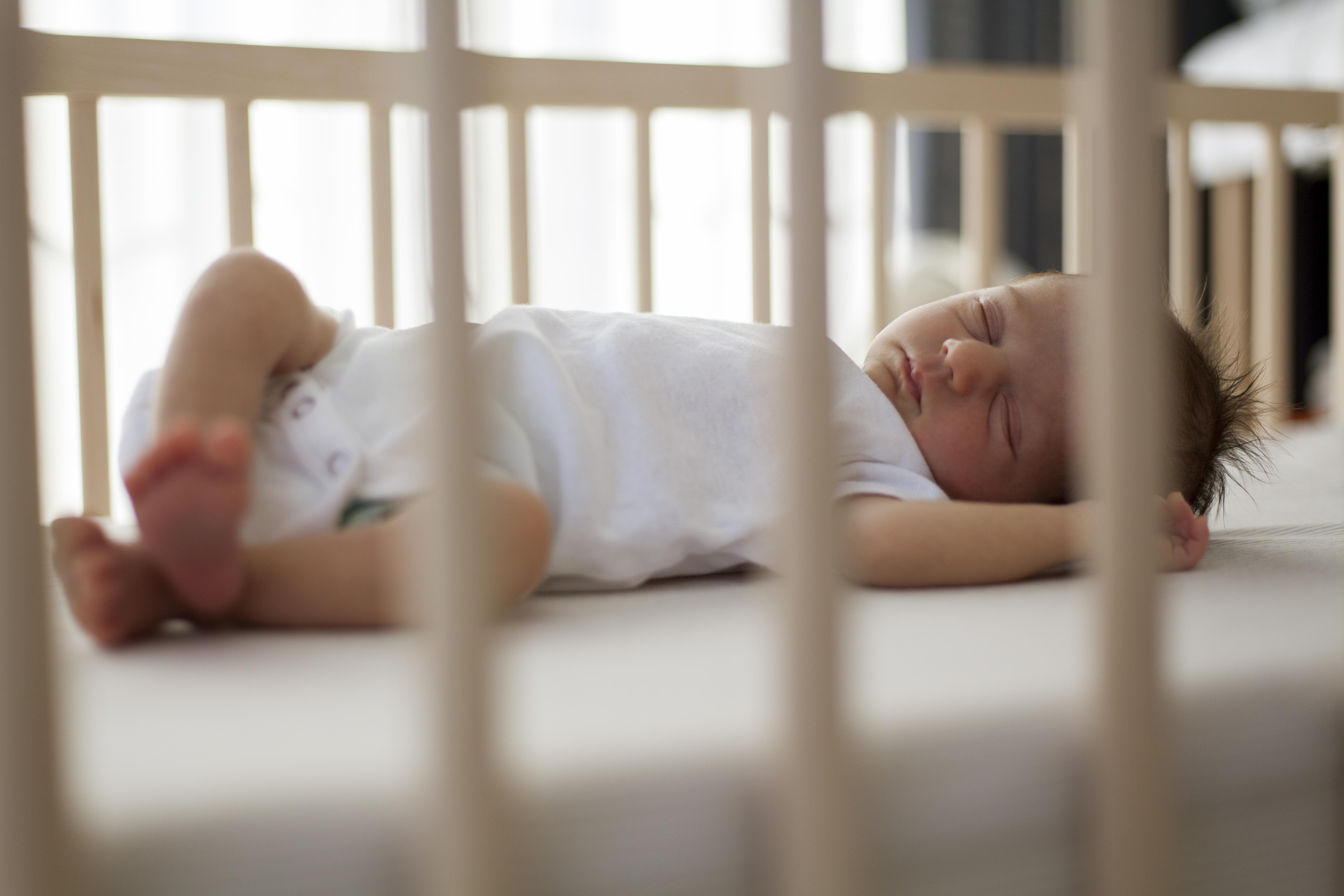 Safer sleep advice saves babies' lives