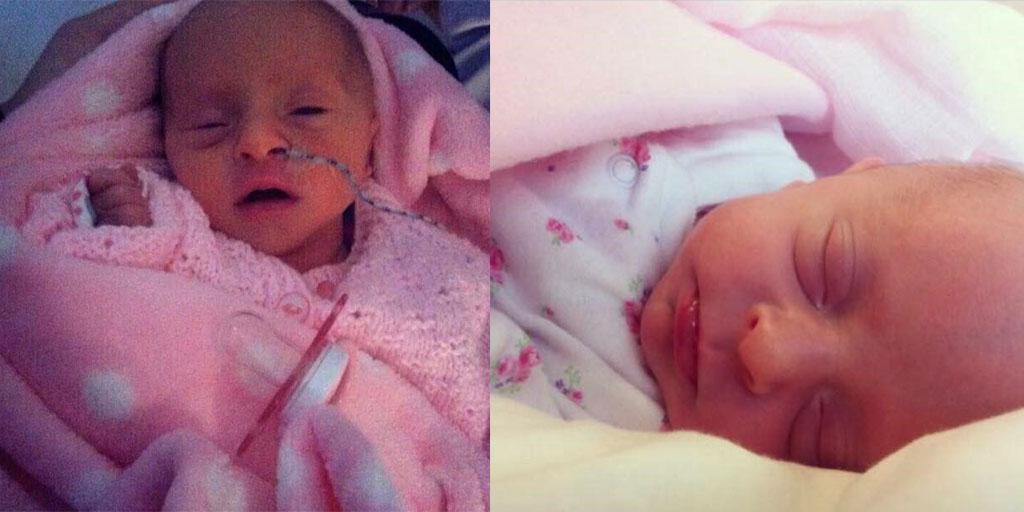 Jordan's daughter Ruby-Leigh