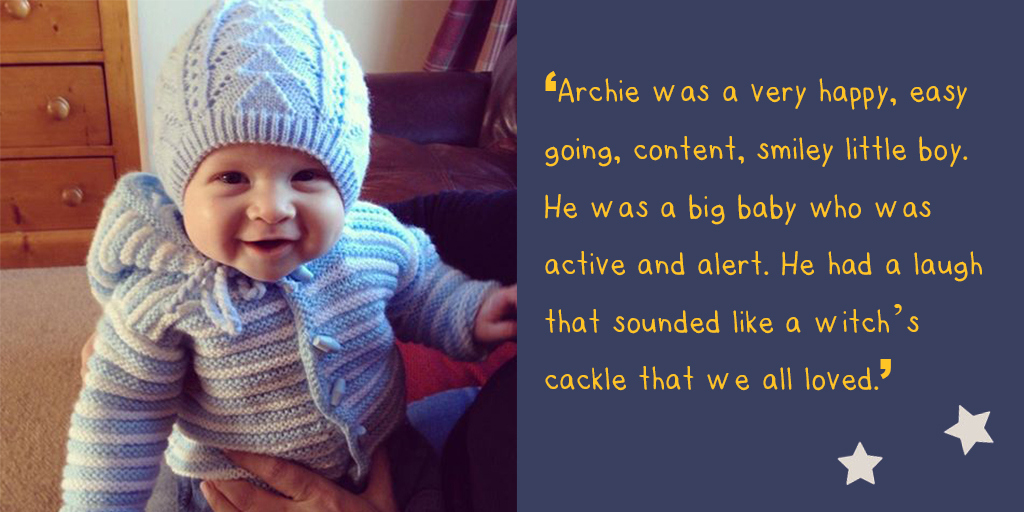 katies story baby archie quote